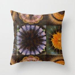 Lirellate Composition Flower  ID:16165-040917-91120 Throw Pillow