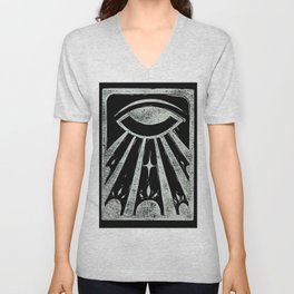 Clarity (Black) Unisex V-Neck