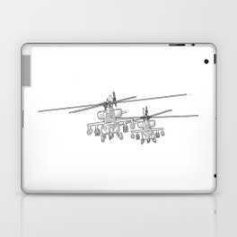 Apache's flying Toon Render Laptop & iPad Skin