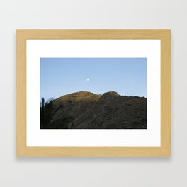The other side of the dawn Framed Art Print