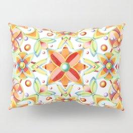 Suzani Textile Pattern Pillow Sham