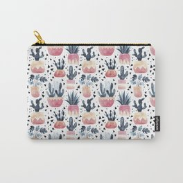 Cactus & Monstera Carry-All Pouch