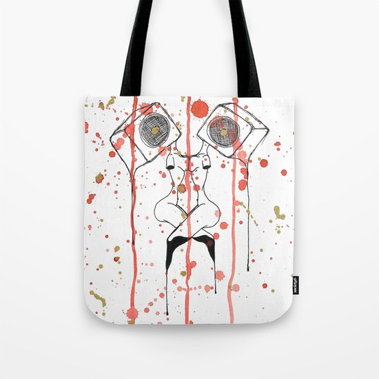 Loud Tote Bag