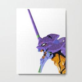 Eva-01 Metal Print