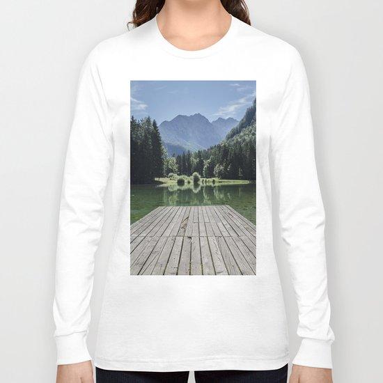 Green Lake nature Long Sleeve T-shirt