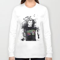 1d Long Sleeve T-shirts featuring Zayn Malik 1D by Mariam Tronchoni