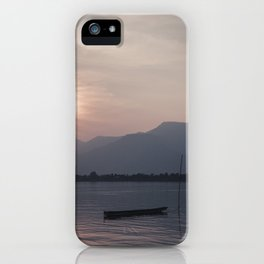 Sunset at Mekong iPhone Case