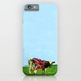 Atom Cow iPhone Case