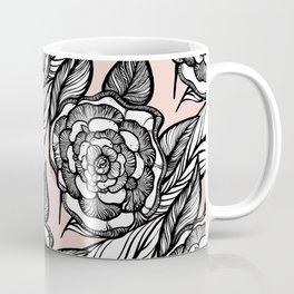 rose flowers pattern Coffee Mug