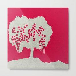Fruit Tree Series, Red III Metal Print