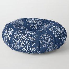 Les fleurs blanche Floor Pillow
