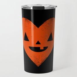 I Heart Halloween Travel Mug