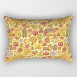 Rustic Fall. Indian summer Rectangular Pillow