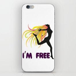 Womens ClothLuxe : Democracy Freedom Tee Shirt Gift iPhone Skin