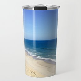 Beach cliffs Travel Mug