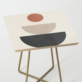 Geometric Modern Art 30 Side Table