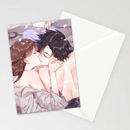 Jumin's morning kiss Stationery Cards