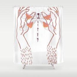 Libelula Shower Curtain