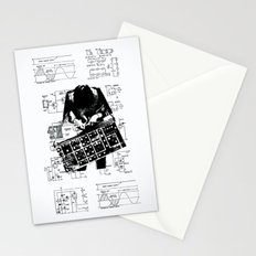 Synth Stationery Cards