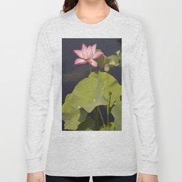 Lotus Flower by Teresa Thompson Long Sleeve T-shirt
