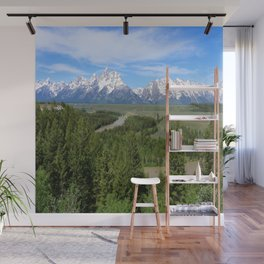 Snake River And The Grand Tetons Wall Mural