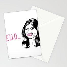 Melania Trump Hello Meme Stationery Cards