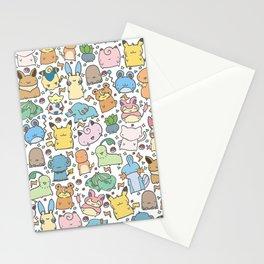 Kawaii Pokémon Stationery Cards