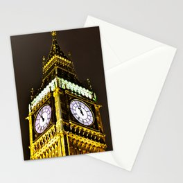 Big Ben in HDR Stationery Cards