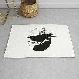 Raven Silhouette II Rug