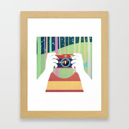 Snapshot Framed Art Print