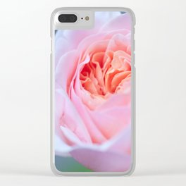 Forever in Love - Pink Rose #1 #decor #art #society6 Clear iPhone Case