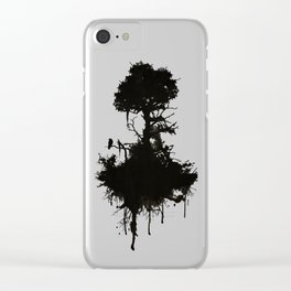 Last Tree Standing Clear iPhone Case
