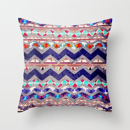 TRIBAL MIND Throw Pillow