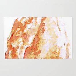 Himalayan Salt Crystal Painting Rug