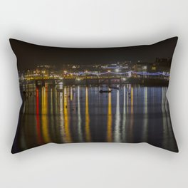 Prince of Wales Pier at Night Rectangular Pillow