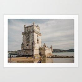 Belem Tower Art Print