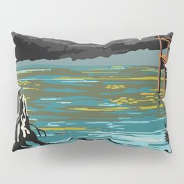 National Parks 2050: Everglades Pillow Sham