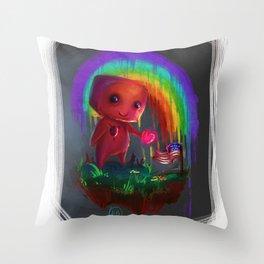 Hug for America Throw Pillow