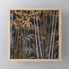 Bamboo 5 Framed Mini Art Print