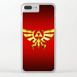 Link Zelda Clear iPhone Case