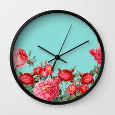 Fab Floral Wall Clock