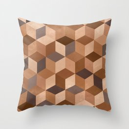 >>HUMANS>> No color is better than another. Throw Pillow