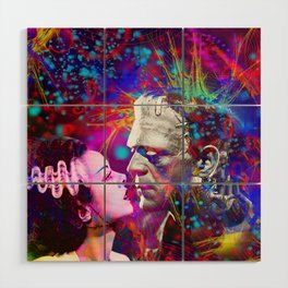 Frankenstein`s Bride Wood Wall Art