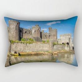 Conwy Castle Rectangular Pillow