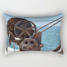 Almada, winching machine Rectangular Pillow