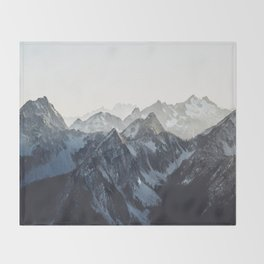 Mountain Mood Throw Blanket