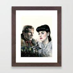 It's Too Bad She Won't Live Framed Art Print