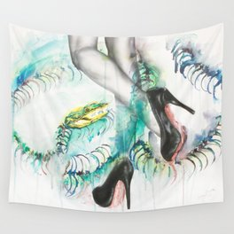 Rainbow and Serpent Wall Tapestry