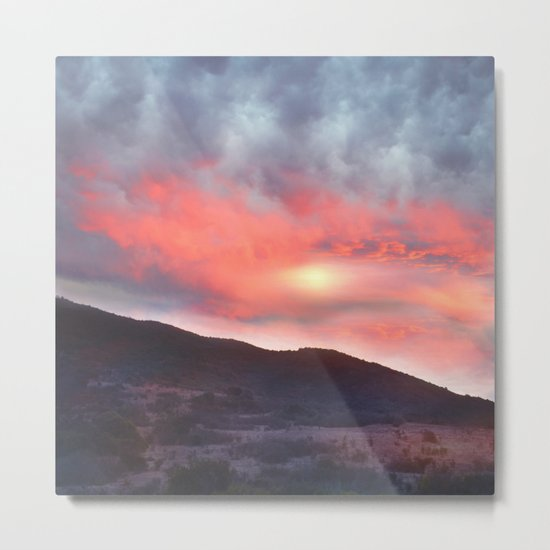 Magical Sunset III Metal Print
