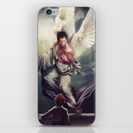 Supernatural: Angel watching over you iPhone Skin